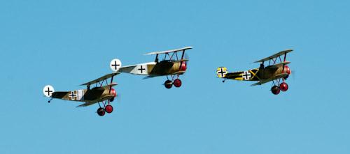 Fokker formation