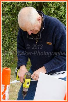 Members of the Martinborough Lions Club man gates at the Vinyrads checking tickets,etc. A great fundraiser for the club with the monet raised going back into the community.