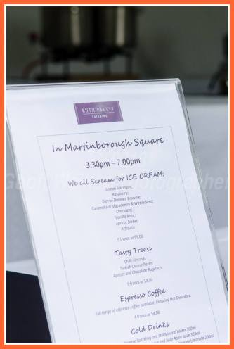 Saw the sign but forgot to head back to the square for Ruth Pretty's famous icecream..... oh dear!!