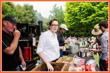 Sausages from Greytown's award winning butchery were very popular
