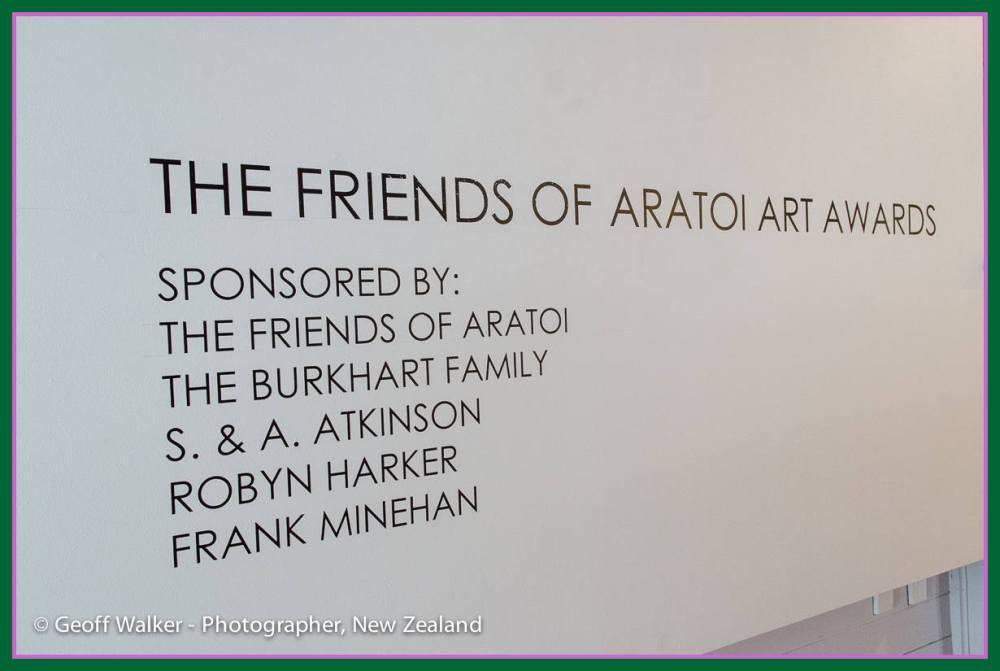 2013-11-22 Friends of Aratoi Art Awards 2013. (1/6)