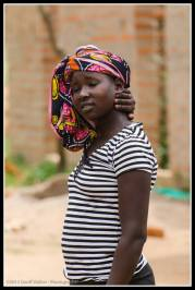 Beautiful Acholi woman