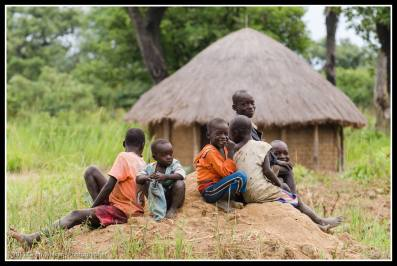 Kids in Ludel Village