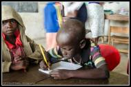 Arop Moses in ABC Nursery School, Rackoko.