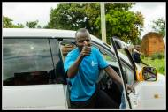 My friend the boda driver and car driver... took me to Lira many times.