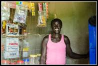 Shopkeeper in Odek - this is where Joseph Kony came from.
