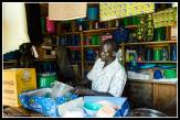 Another shopkeeper in Odek - this is where Joseph Kony came from.