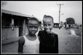 Kids in the street - Gulu