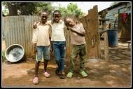 Kids of the neighbour hood in Bukoto, Kampala.