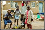 More neighbourhood kids in Bukoto.