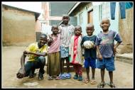 More neighbourhood kids in Bukoto.
