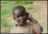 Children of the camp - Rackoko IDP Camp