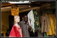 Shop keeper in Bukoto, Kampala