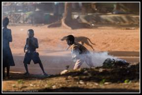 Kids at play in Kasangati