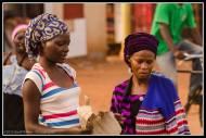 In the market at Kasangati