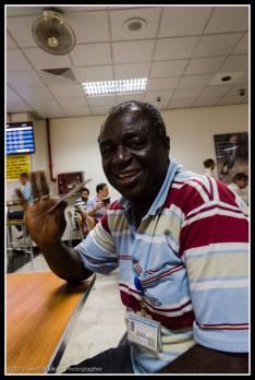 Entebbe Airport, Uganda...