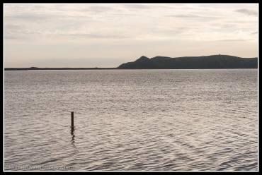 Whakaki Lagoon, north of Wairoa and before Nuhaka.