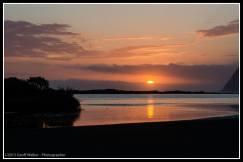 Muriwai Beach and marae