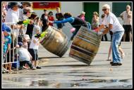people at the Barrel Race