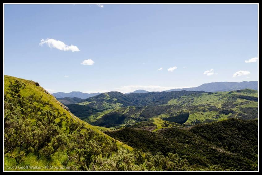 East coast hills.
