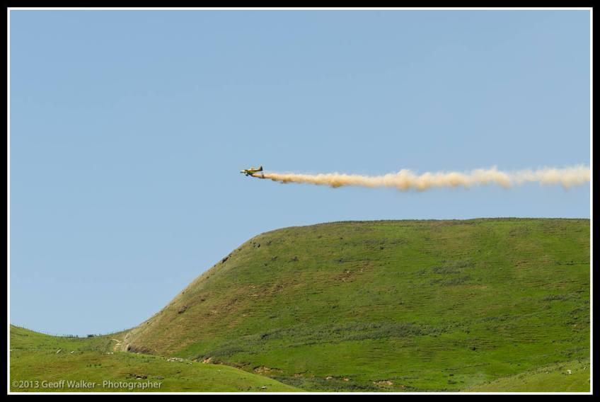 John Bargh flies over Nga Waka.