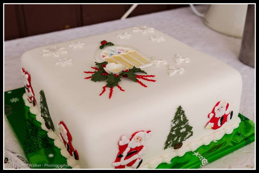 Janice Slaters amazing cooking and decorating.