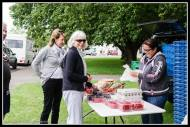 My mate Dot Bissett of the Wee Red Barn pops up everywhere and I usually pop up to catch her!!! Martinborough Square
