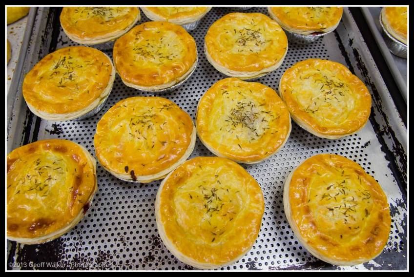 Yummy pies at Wakelin House- you can buy them at many outlets including Moore Wilsons.