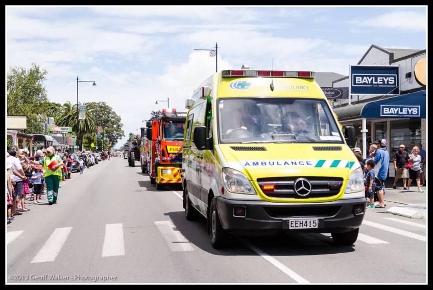 Greytown Xmas Parade - services to the community