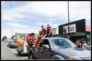 Greytown Xmas Parade - champion Greytown RFC.