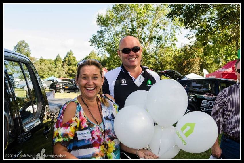 Greytown's A1 Homes team the Southeys were at the show..