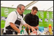 Gate to Plate Chefs Travis of Saluté and Anthony of Wakelin House.