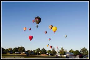 Balloons over Carterton.
