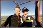 Pilot Scott Curson and dad Phil.