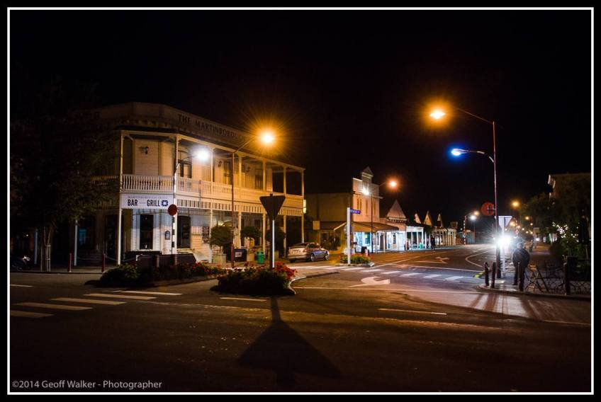 Predawn in Martinborough and time for a flat white from Kitcheners Cafe before it all starts.