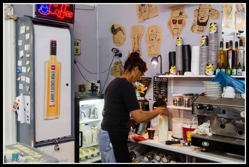 Sue at Kitcheners makes great Havana Coffee!!