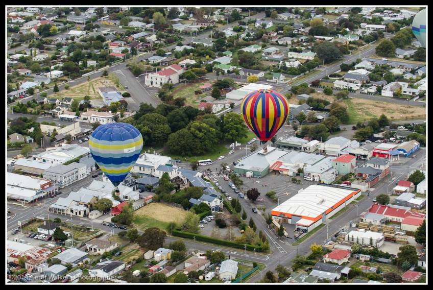 Scott heading for the drop zone at PnK Mitre10